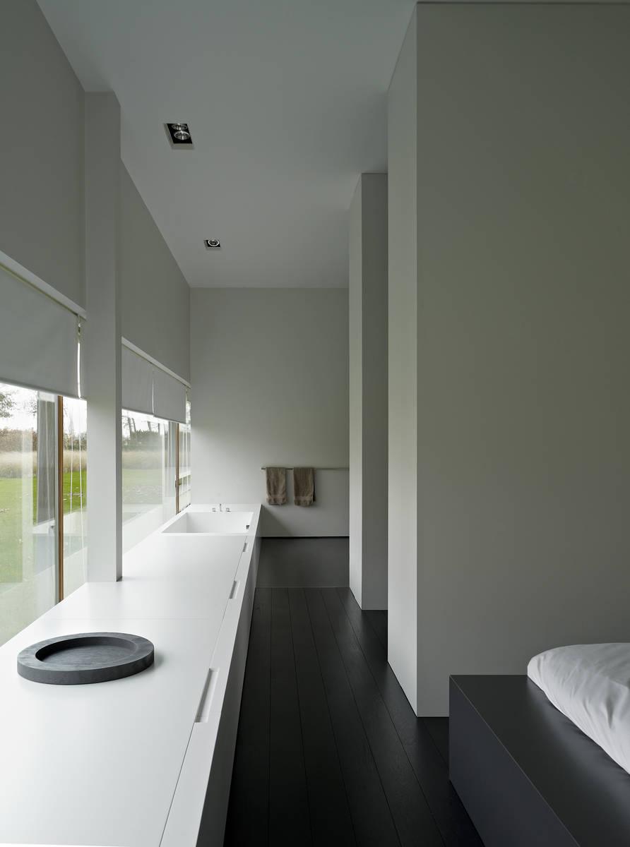 Minus the essence of living poperinge for Walk through closet to bathroom design